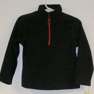 NAVYMICRO FLEECE PULLOVER JACKET, 2T NEW WITH TAGS